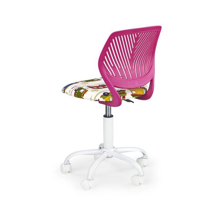 Кресло поворотное Halmar Bali   Розовый - 3