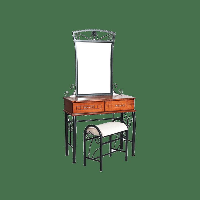 Туалетный столик Signal Sophia | Античная черешня / черный