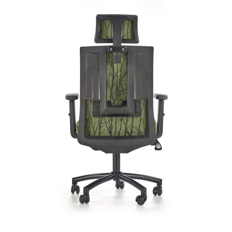 Кресло поворотное Halmar Tropic   Зеленый / Черный фото - 5