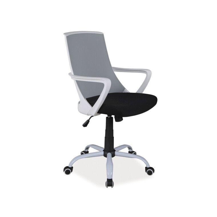 Кресло поворотное Signal Q-248 | Серый / черный