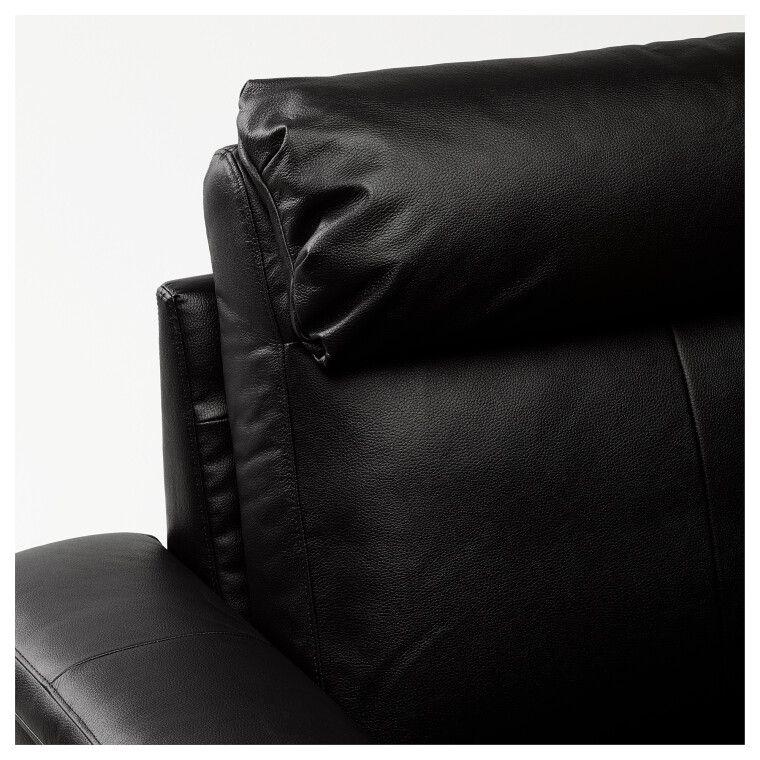 Диван кожаный LIDHULT - 3