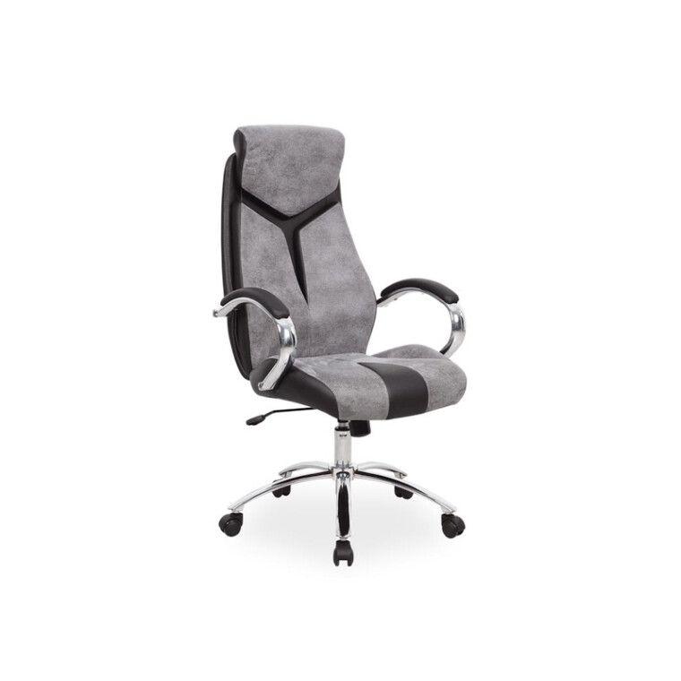 Кресло вращающиеся Signal Q-165 | Черный / Cерый