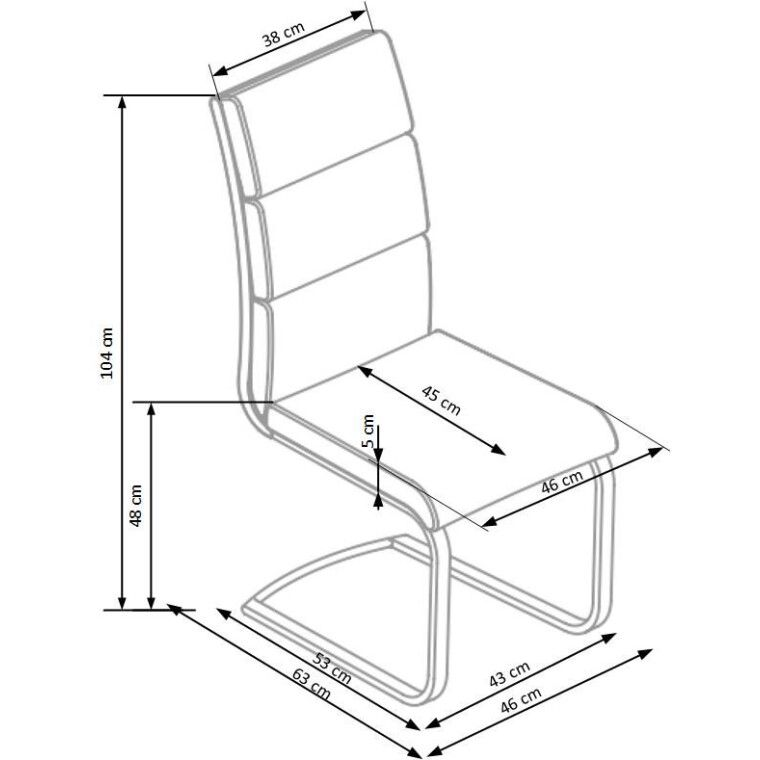 Стул Halmar K230 | Серый - 2