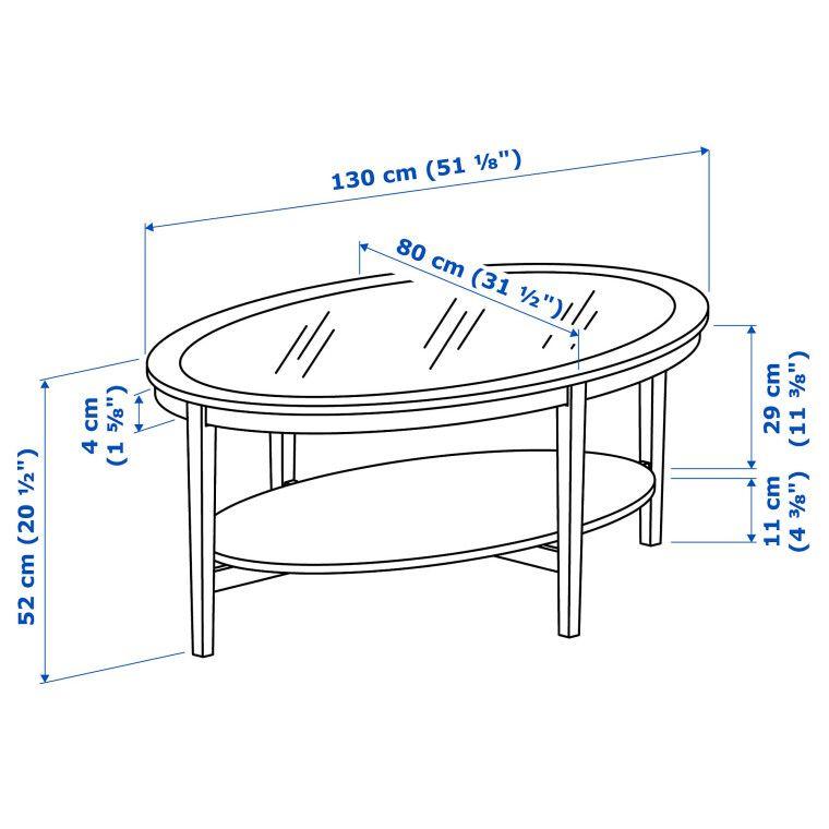 Журнальный стол MALMSTA - 4