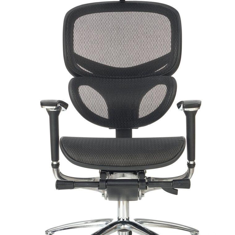 Кресло поворотное Halmar President    Черный - 7