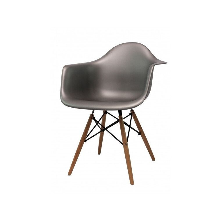 Кресло Signal Mondi | Серый / Бук фото