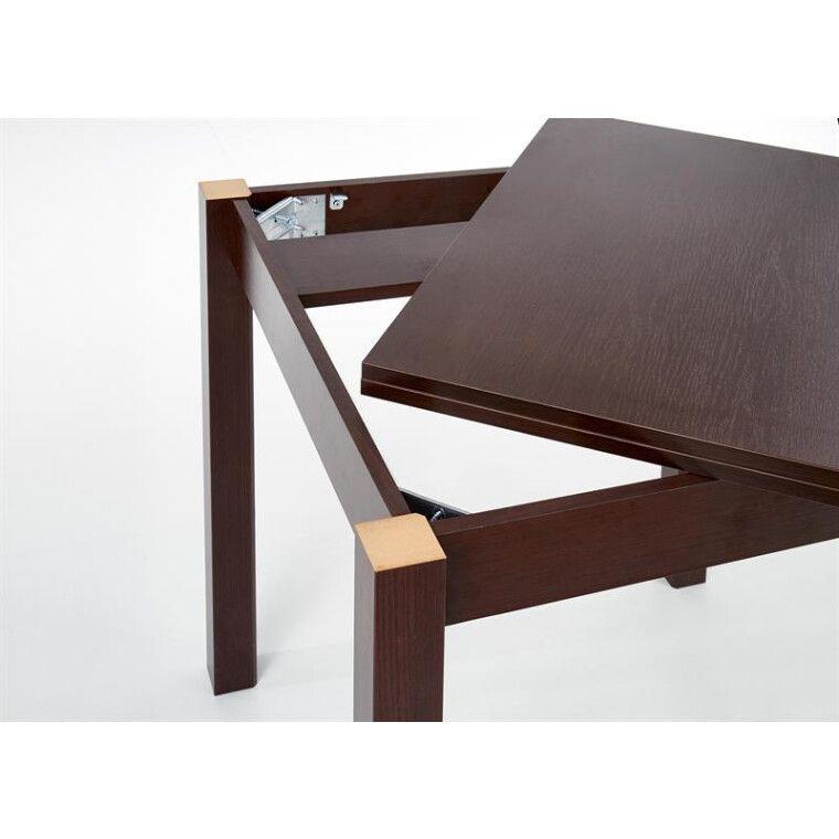Стол раскладной Halmar Gracjan | Темный орех - 8