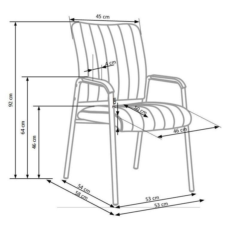 Кресло офисное Halmar Vigor | Черный - 2