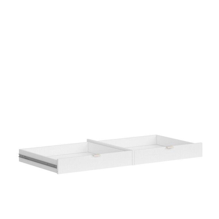Ящик для стола BRW Princeton   Белый / Дуб польский / Серый - 2