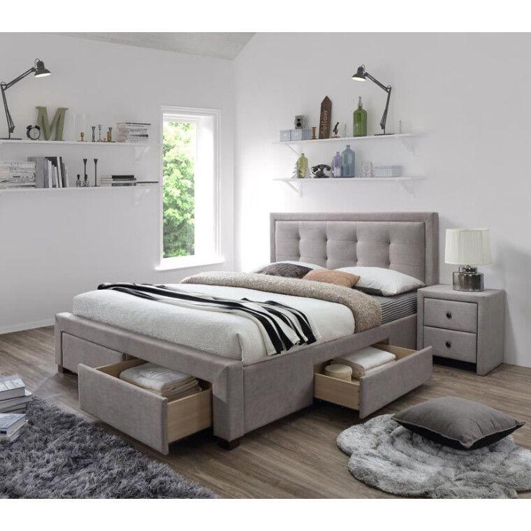 Кровать Halmar Evora | 160х200 /  Бежевый