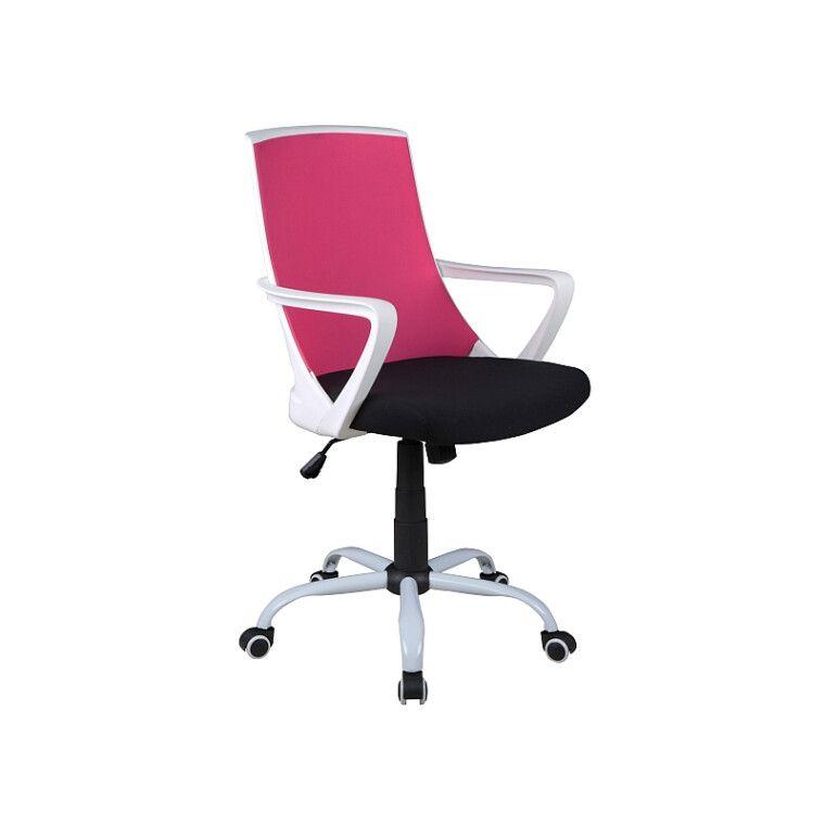 Кресло поворотное Signal Q-248 | Черный / розовый
