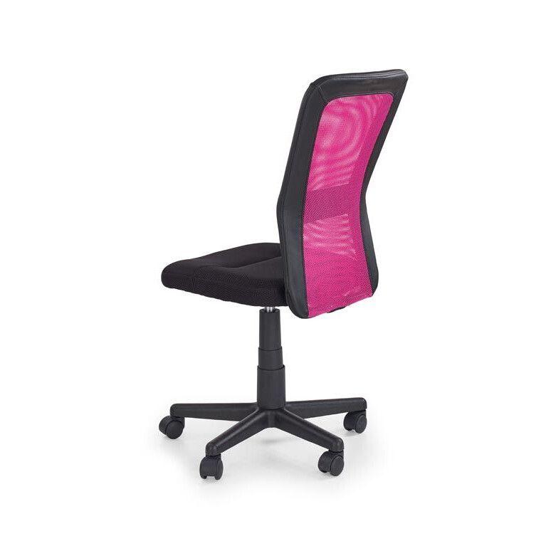 Кресло поворотное Halmar Cosmo   Черный / розовый фото - 2