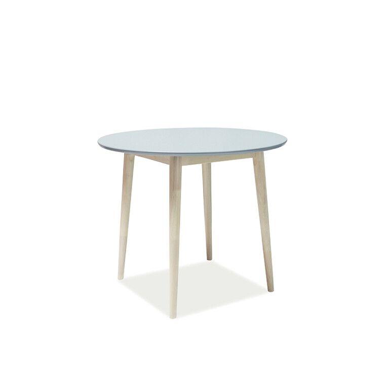 Стол обеденный Signal Larson | 90х90 / Серый / дуб