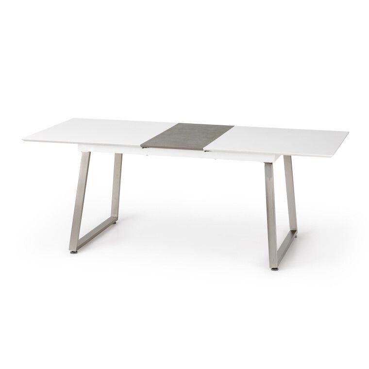 Стол раскладной Halmar Thomas | Белый / Бетон - 3