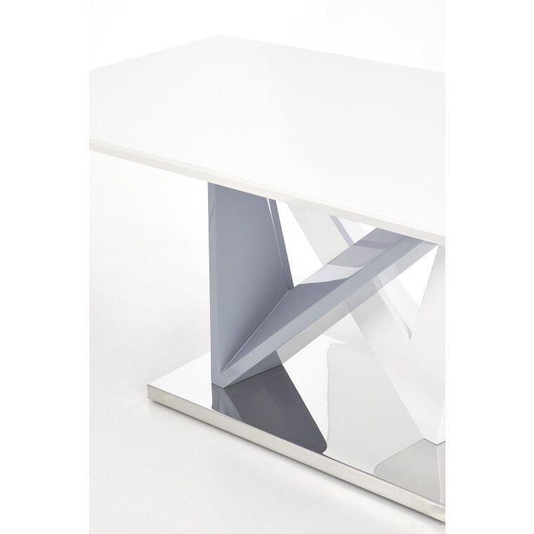 Стол обеденный Halmar Cortez | Белый / серый - 3