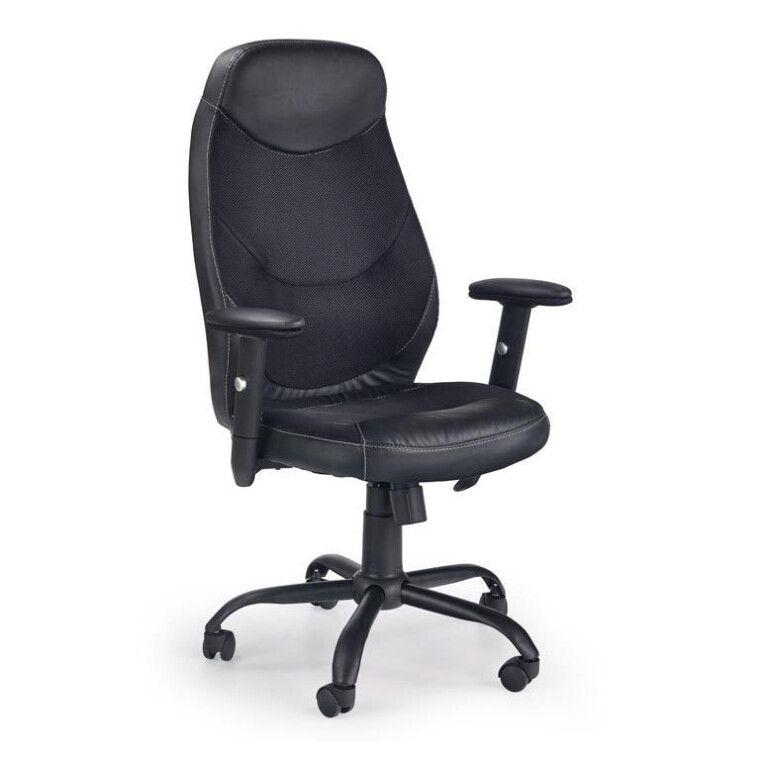 Кресло поворотное Halmar Georg | Черный