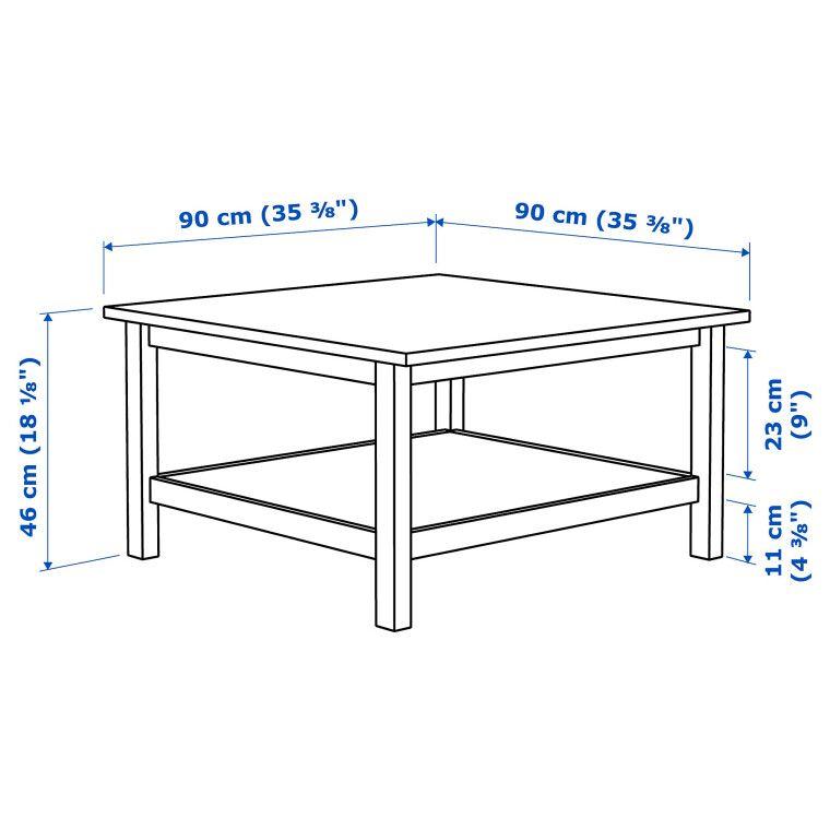 Журнальный столик HEMNES - 6