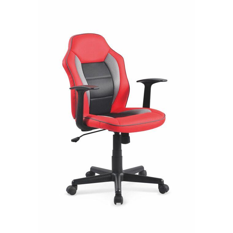 Кресло поворотное Halmar Nemo | Красный / черный
