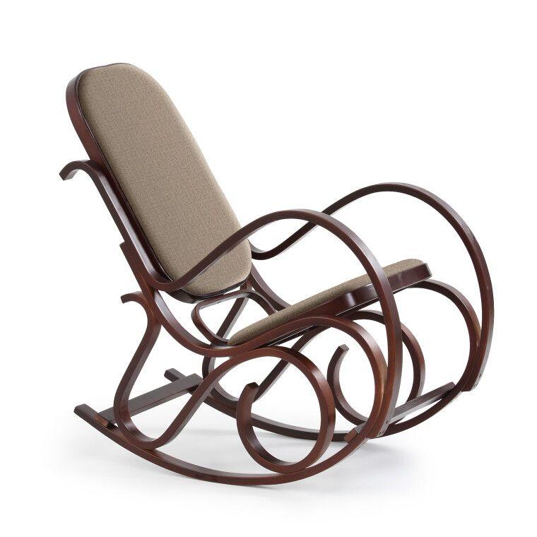 Кресло-качалка Halmar Max Bis Plus   Орех фото
