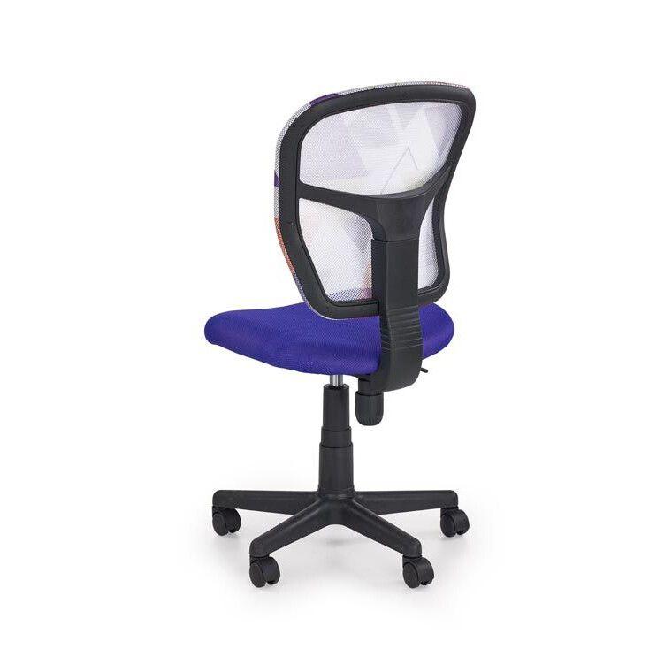 Кресло поворотное Halmar Jump | Фиолетовый - 2