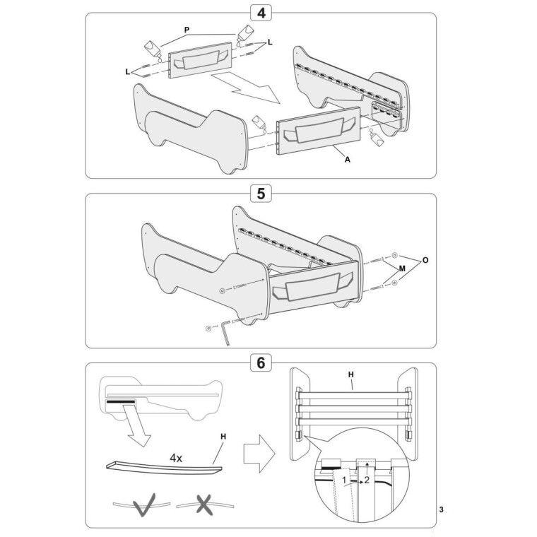 Кровать детская Halmar Digger | Грузовик - 5