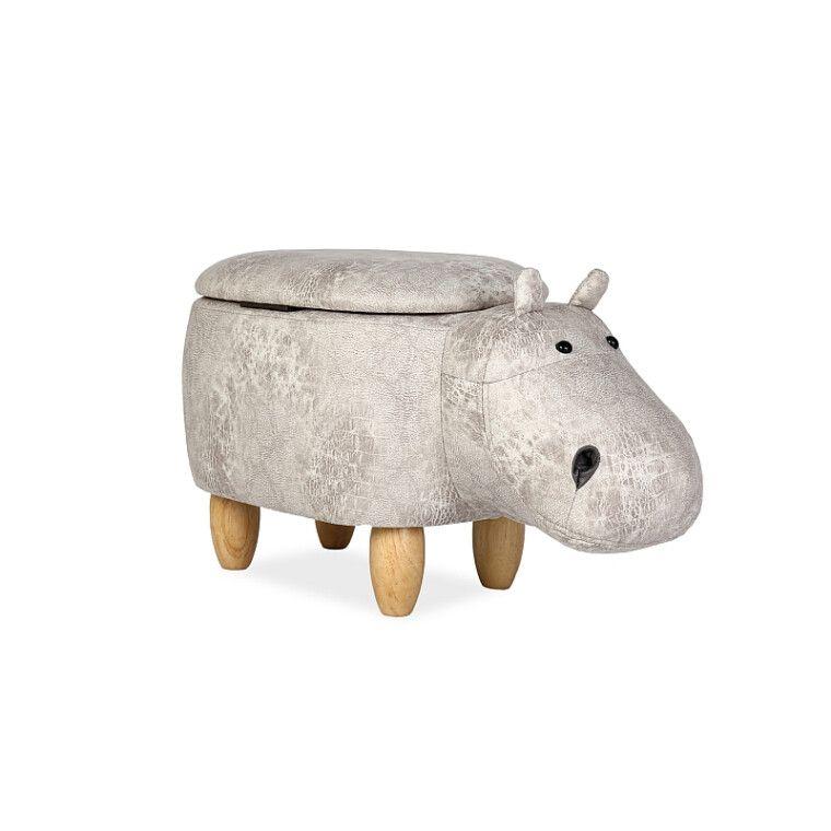 Пуф Signal Hipopotam Hubert | Серый