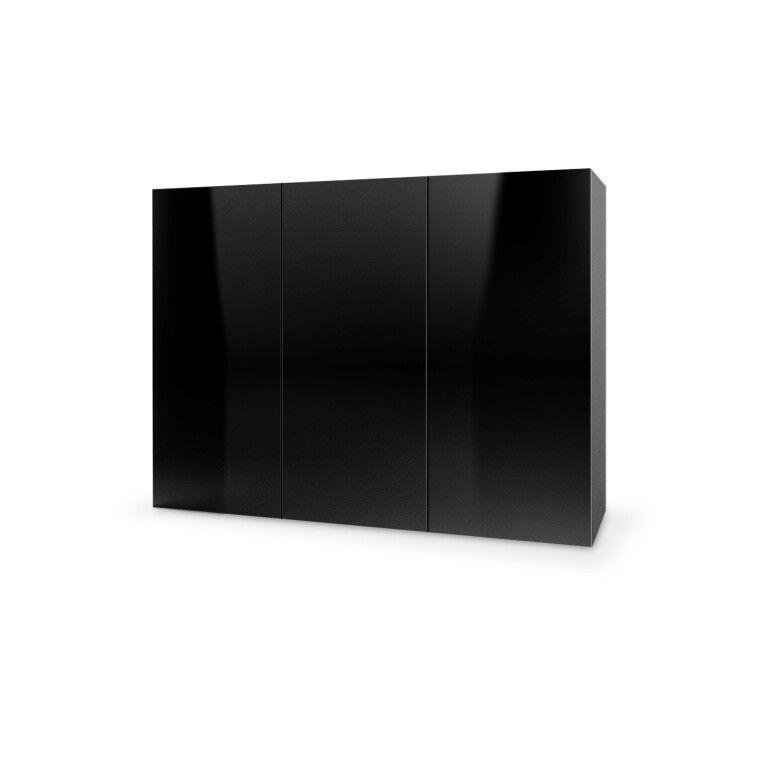 Комод подвесной Halmar Livo KM-120 | Черный