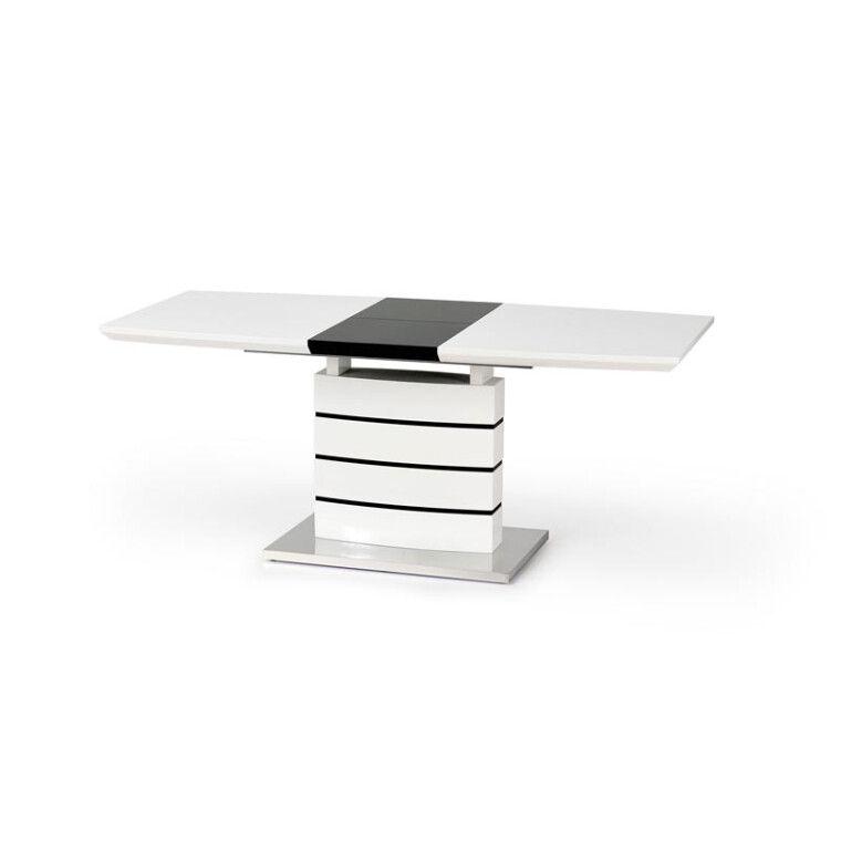 Стол раздвижной Halmar Nord | Белый / черный - 3