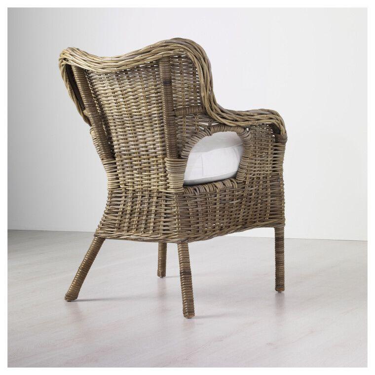 Кресло садовое BYHOLMA - 9