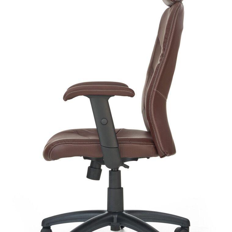 Кресло поворотное Halmar Stilo | Коричневый - 4