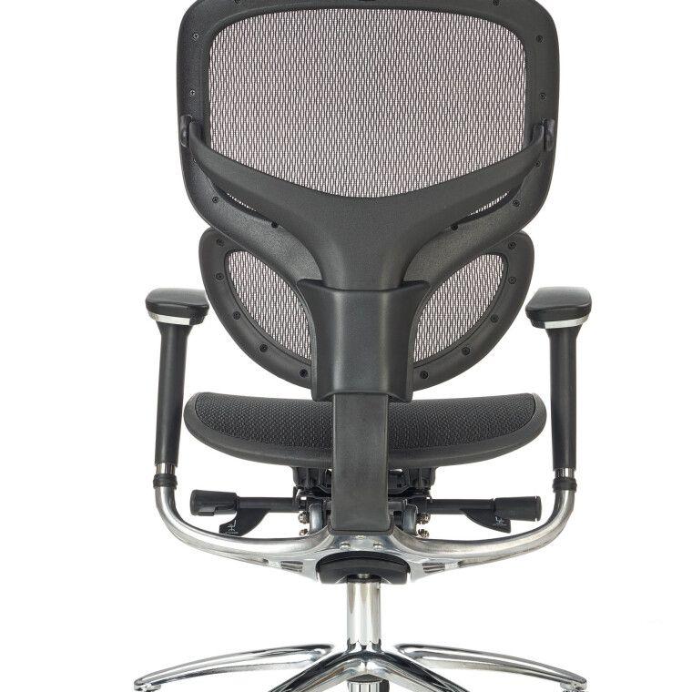 Кресло поворотное Halmar President    Черный - 6