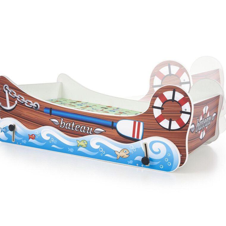 Кровать детская с функцией колыбели Halmar Boat | Лодка - 2