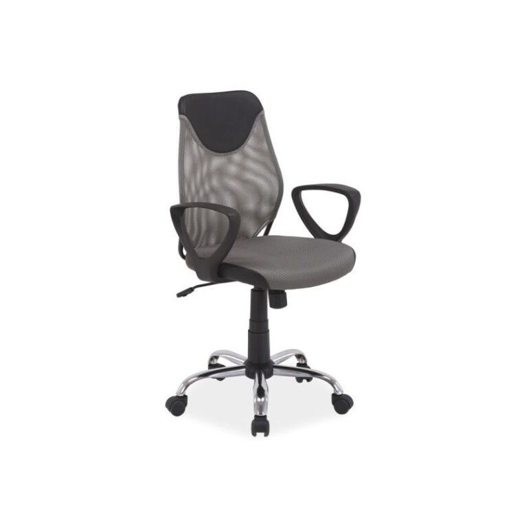 Кресло поворотное Signal Q-146 | Серый / Черный фото