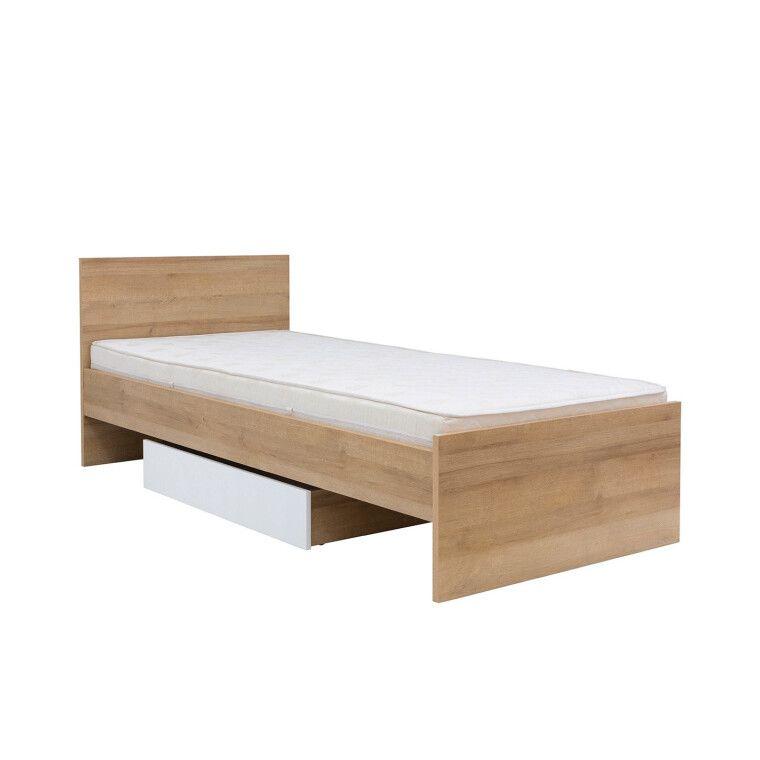 Кровать BRW Balder | 90x200 / Дуб ривьера - 4