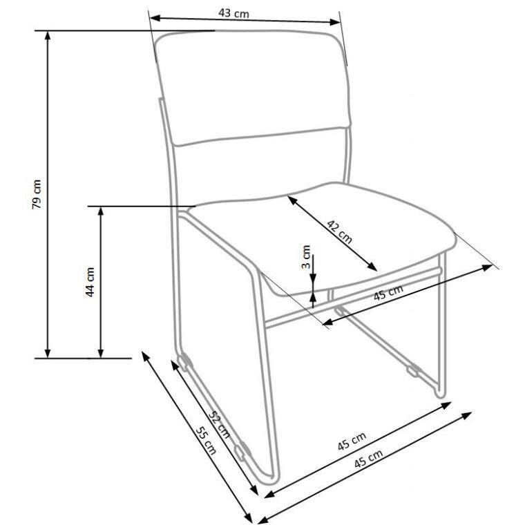 Кресло офисное Halmar Vito | Синий - 2