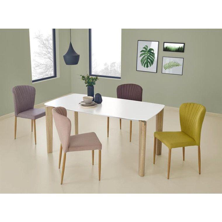 Стол обеденный Halmar Weber | Белый / дуб сонома - 4