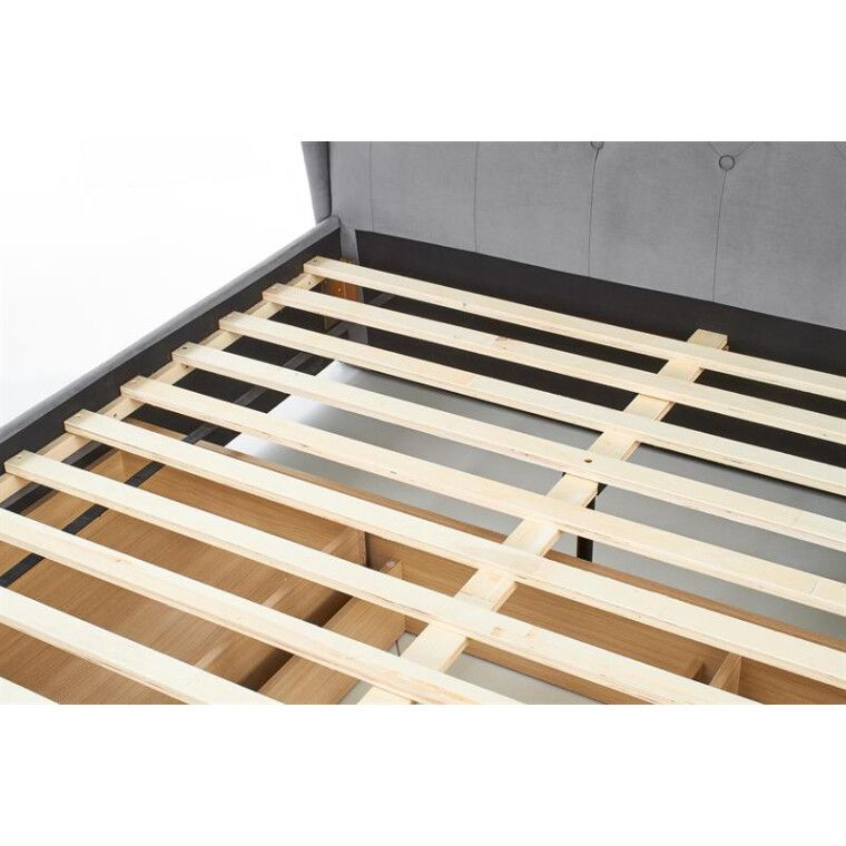Кровать Halmar Sabrina | 160х200 / Серый - 17
