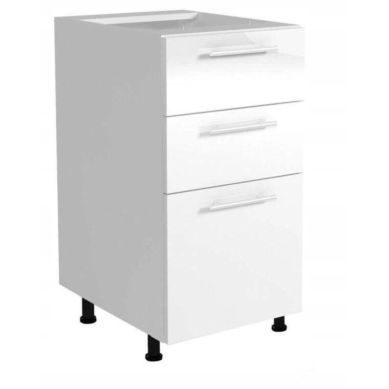 Нижний шкаф модульный Halmar Vento D3S-40/82 | Белый
