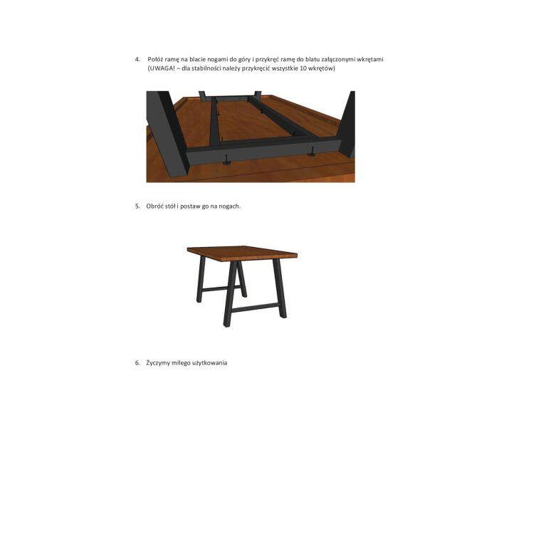 Стол обеденный Signal Abramo | Шпон / 90х150 - 4