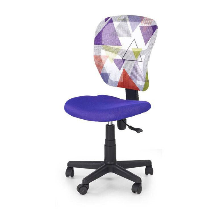 Кресло поворотное Halmar Jump   Фиолетовый