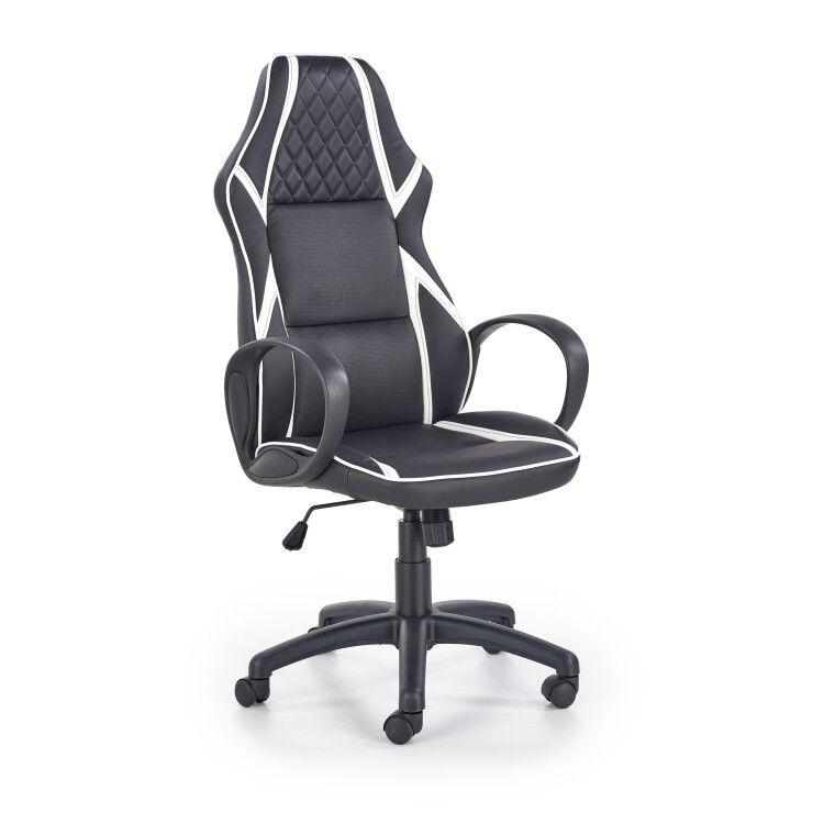 Кресло поворотное Halmar Dodger | Черный / белый