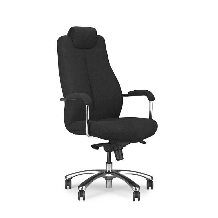 Кресло поворотное Halmar Sonata XXL | Черный