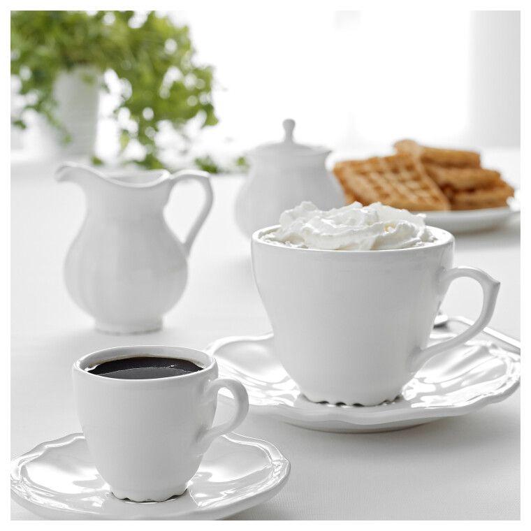 Чашка для кофе эспрессо с блюдцем ARV - 2