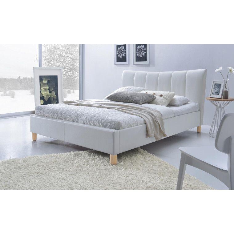 Кровать Halmar Sandy | 160х200 / Белый