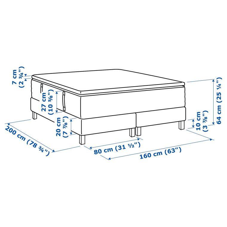 Кровать ESPEVÄR - 2