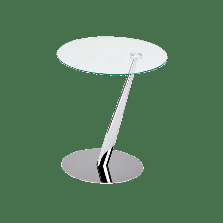 Стол кофейный Signal Tutti | Прозрачный / хром