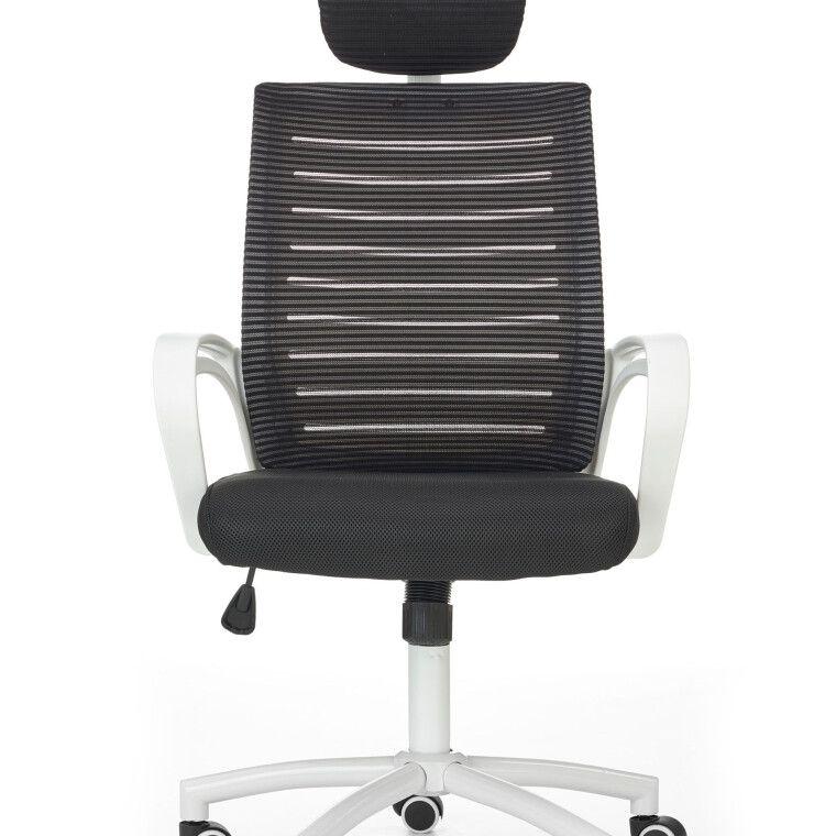Крісло поворотне Halmar Socket | Чорний / Білий - 7