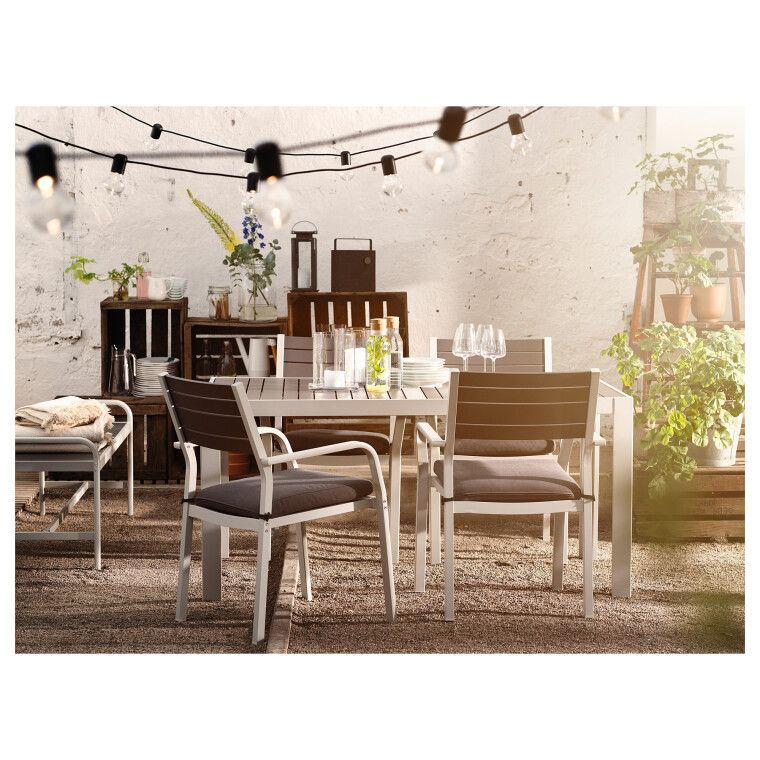 Комплект мебели садовой SJÄLLAND - 9