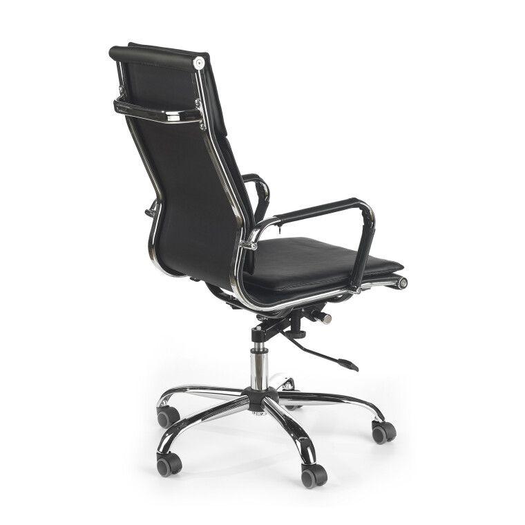 Кресло поворотное Halmar Mantus   Черный - 3