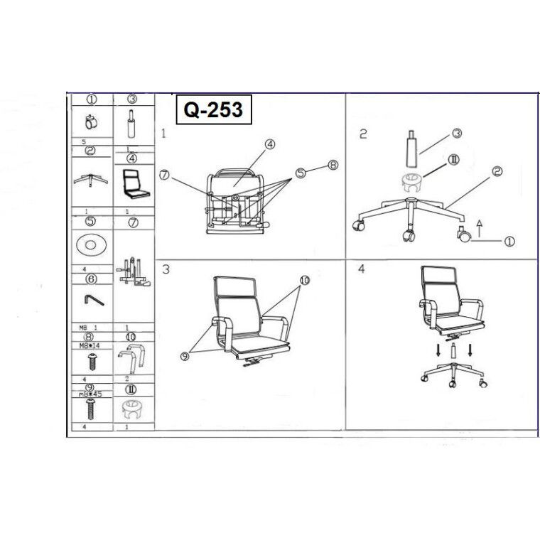 Кресло поворотное Signal Q-253   Черный - 2